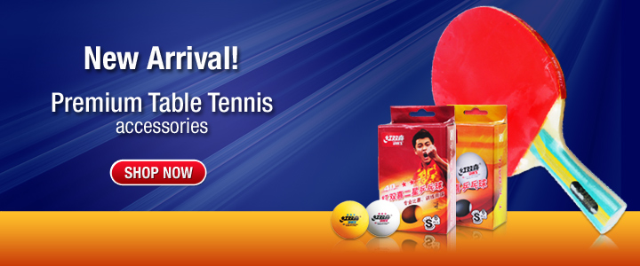 NEW Arrival! Premium Table Tennis accessories